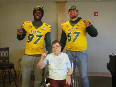 NDSU Player With SCC Resident