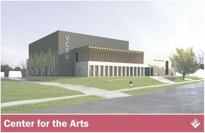 VCSU's New Center for the Arts Building