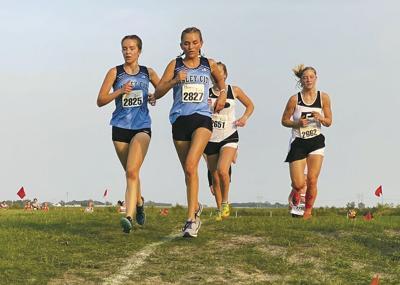 Hi-Liner Cross Country Girls Running
