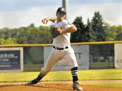 Babe Ruth Baseball - Corey Pitching