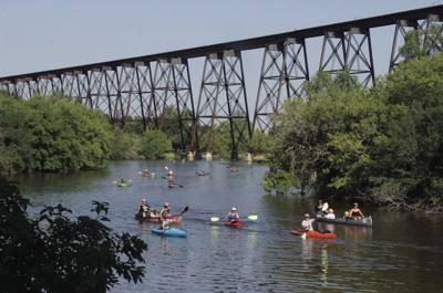 Kayaking on the Sheyenne
