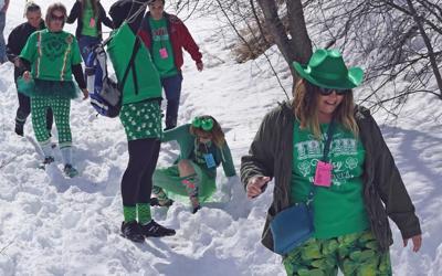Running of Green Photo
