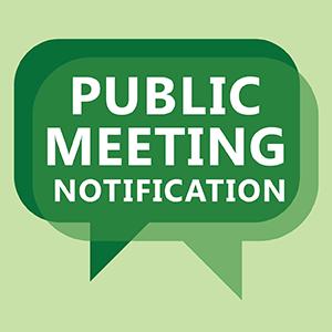 Public Meetings Notice Graphic