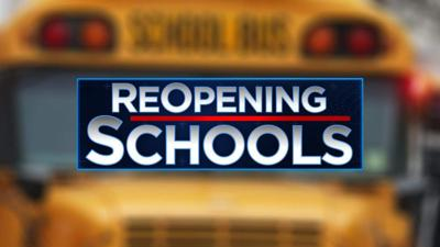 Reopening School Graphic