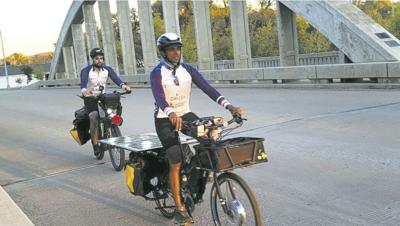 SunPedal Bike Riders on Rainbow Bridge 2021