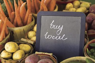 buy Local - Fresh Veggies