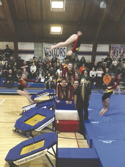 FM Acro Team Performs in Maple Valley