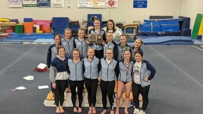 Hi-Liner Gymnastics EDC Champions Team Photo