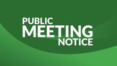 Public Meeting Notice Graphic