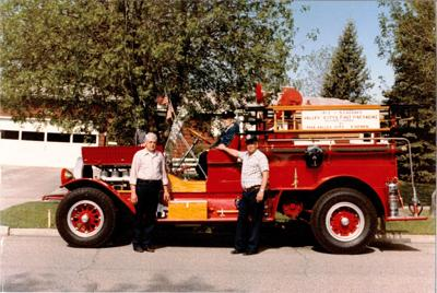 VCFD 1917 Seagraves Restored Fire Truck