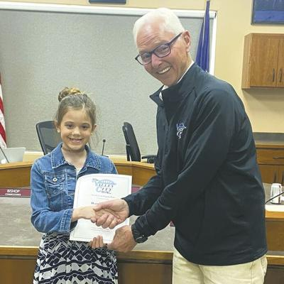 Mayor for the Day 2021- Haylee Martin