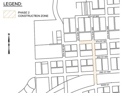 Construction Notice – 7th Avenue West Map