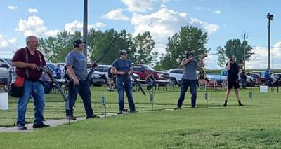 Trap Shooting (Old Photo)