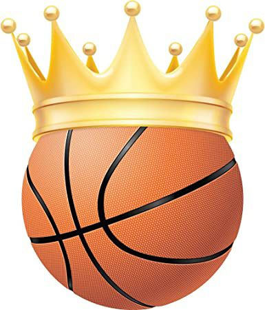 Basketball With A Crown Graphic