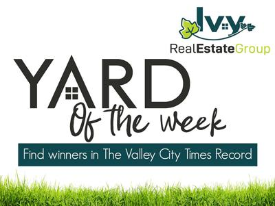 Yard of the Week Sign