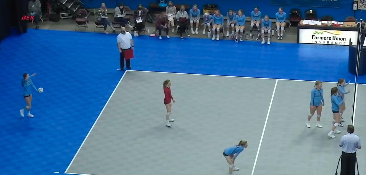 Consolation Semifinals 2 at 2020 State Volleyball
