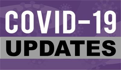 Covid-19 Updates (Purple) Graphic