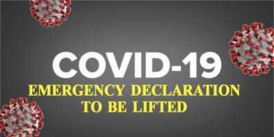 Covid Emergency Declaration Lifted Graphic