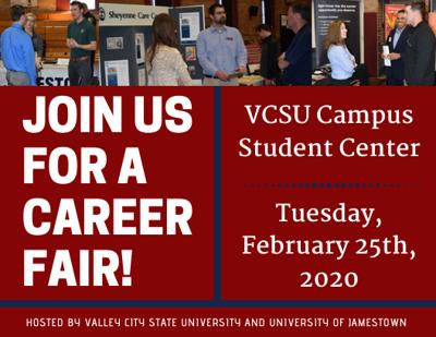 VCSU & UJ Career Fair Flyer