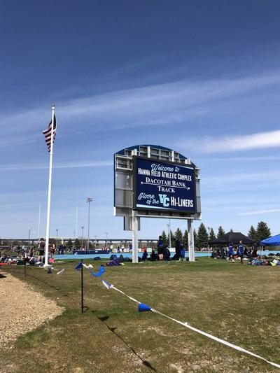Dacotah Bank/hanna field scoreboard
