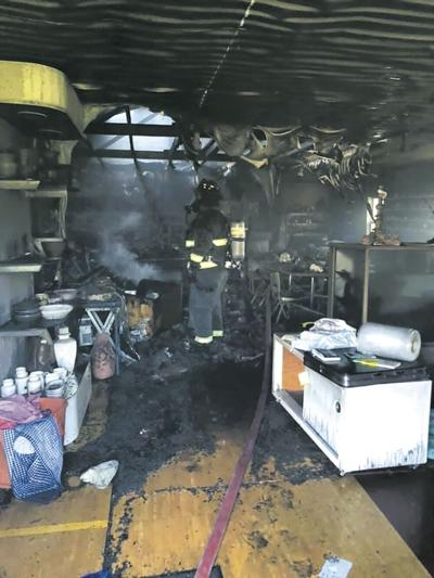 Pottery Parlour Fire Damage