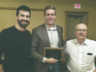 Nick Simonson Receives Communicator Award