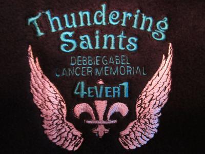 Thundering Saints Logo