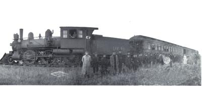 First Midland Continental Train Through Wimbledon 1906