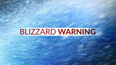 Blizzard Warning Graphic
