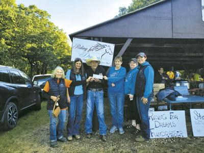 Eagles Donation to Riding for Dreams