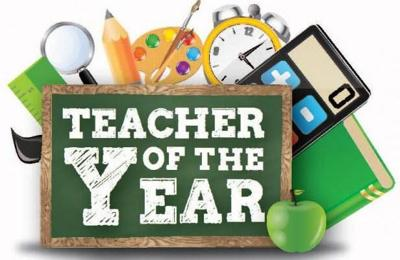 Teacher of the Year Graphic