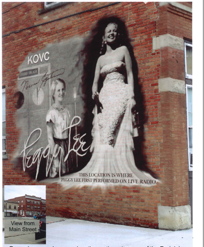 Peggy Lee Proposed Mural