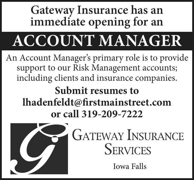 Gateway Insurance Account Manager