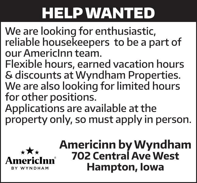 Help Wanted Americinn