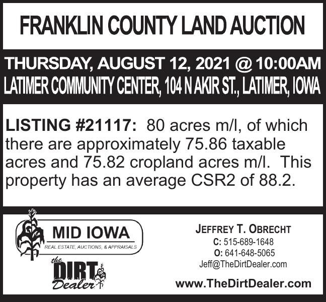 Franklin county land auction