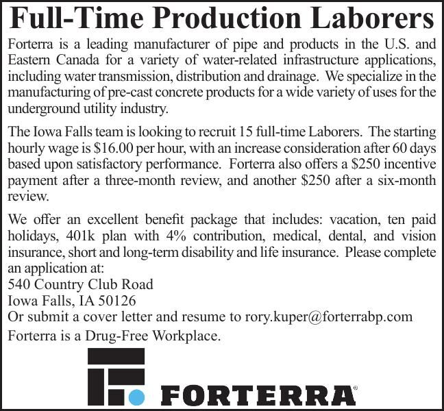 Full-Time Production Laborers