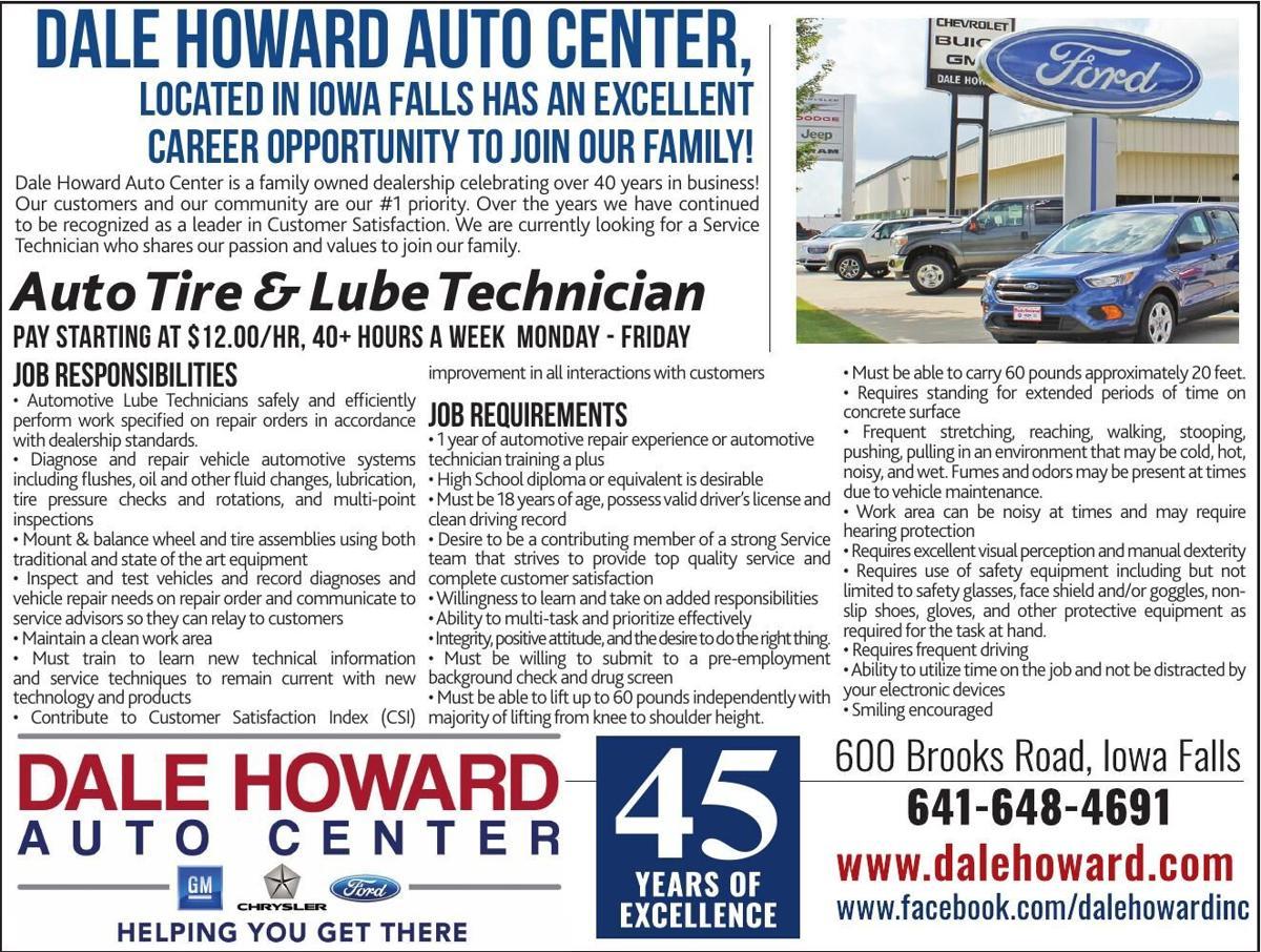 Auto Tire & Lube Technician