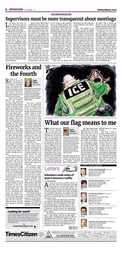 Times Citizen Editorial Page