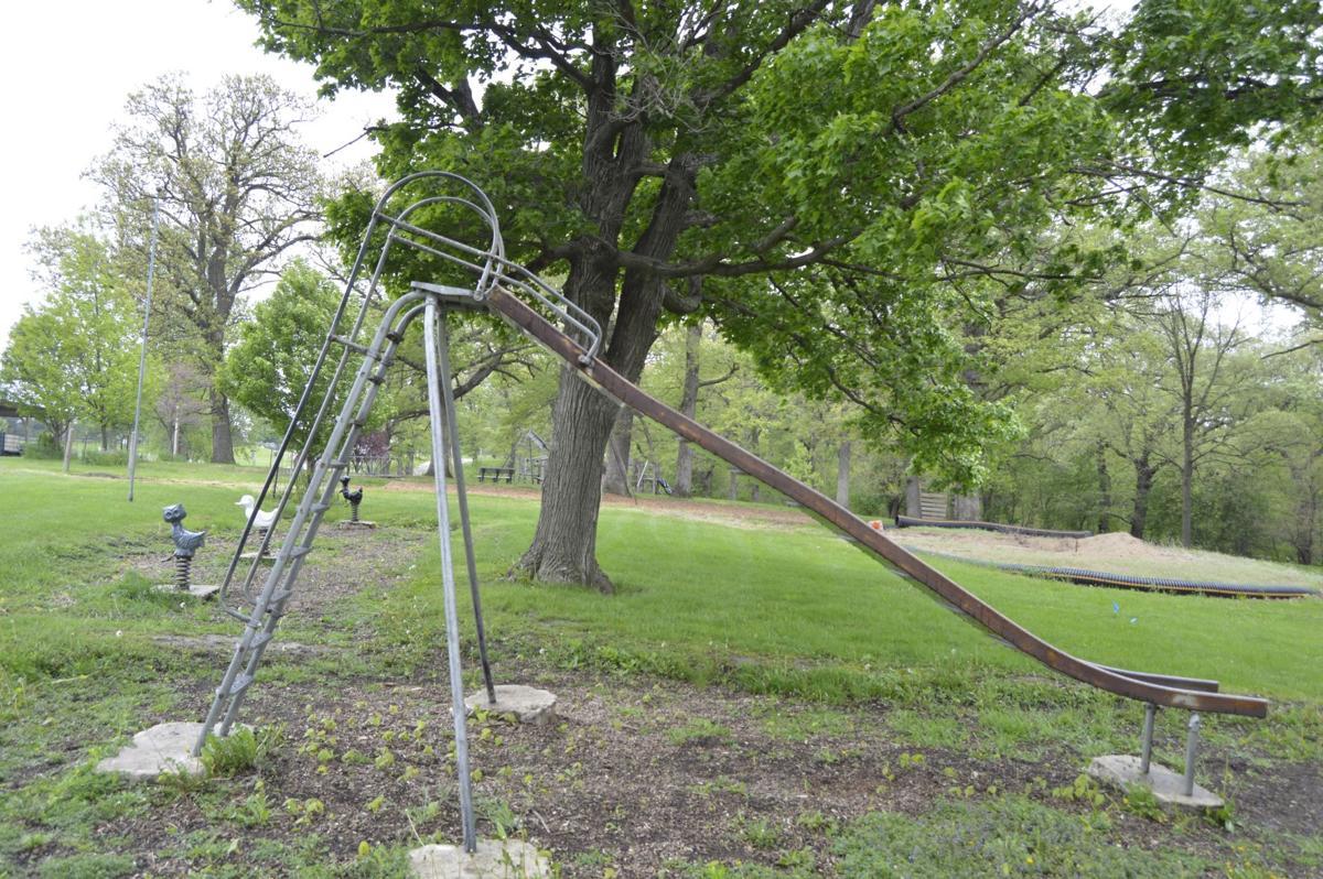 Memorial Park Slide