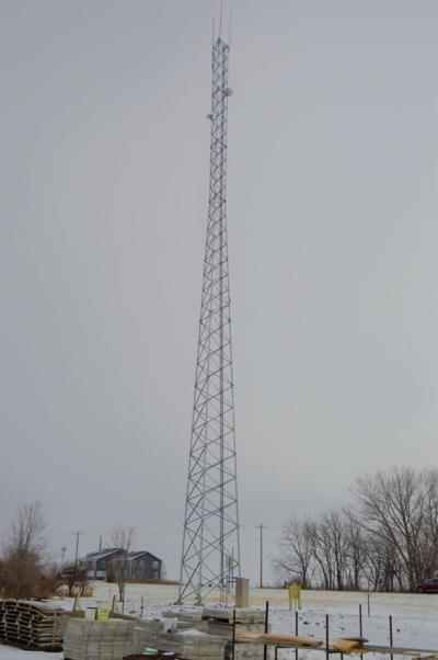 Hardin County Radio Tower in Hubbard