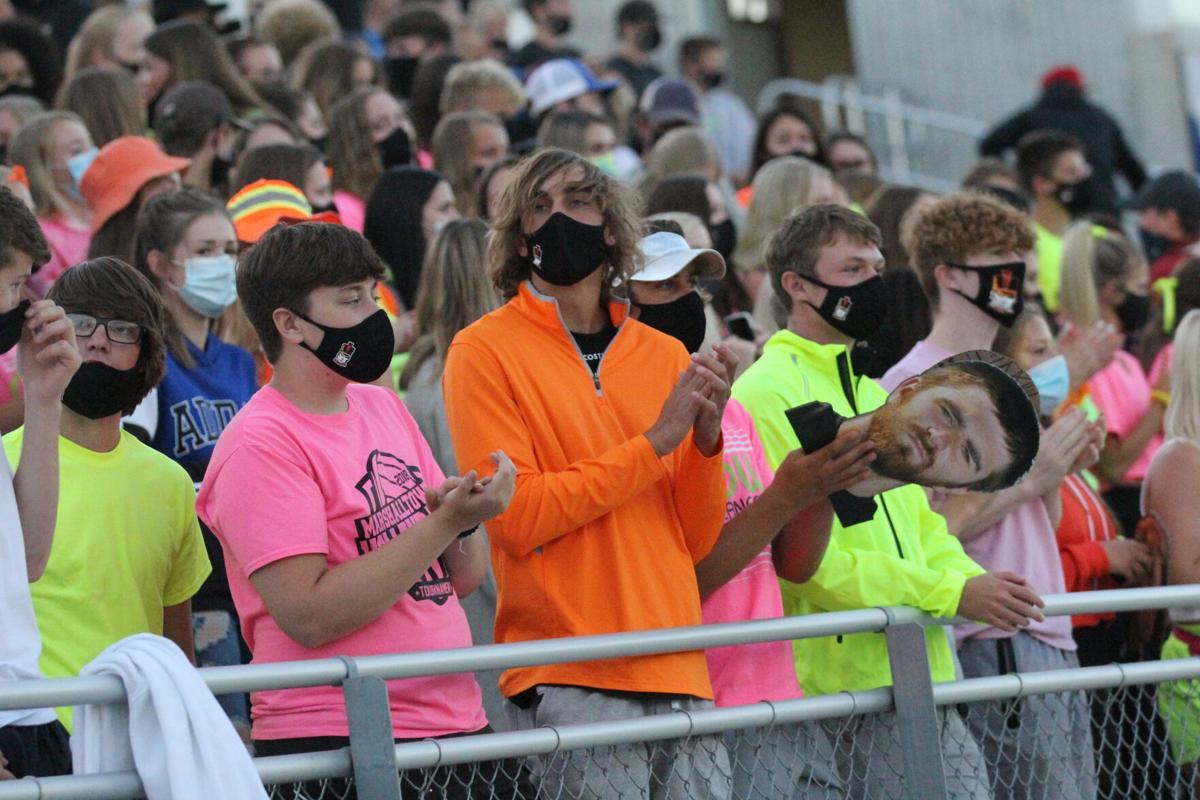 Masks at games 1