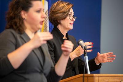 Gov. Kim Reynolds Press Conference April 21, 2020