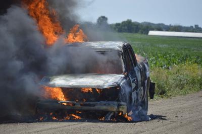 Blake Jones Car Fire
