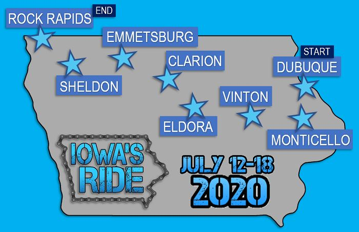 Iowa's Ride 2020