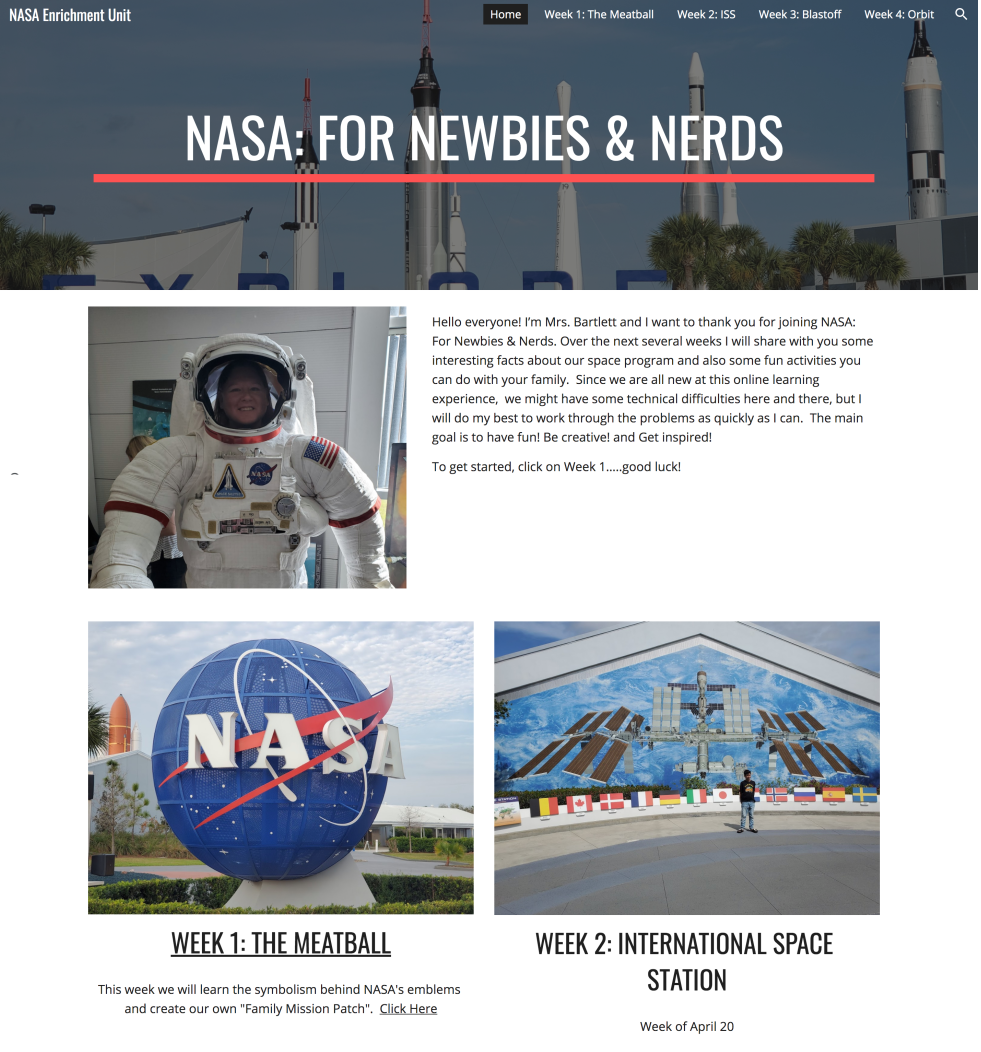 NASA: For Newbies and Nerds