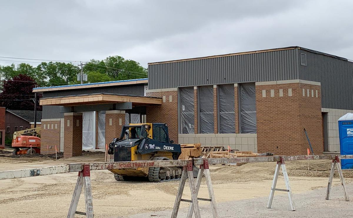 Iowa Falls City Hall Construction