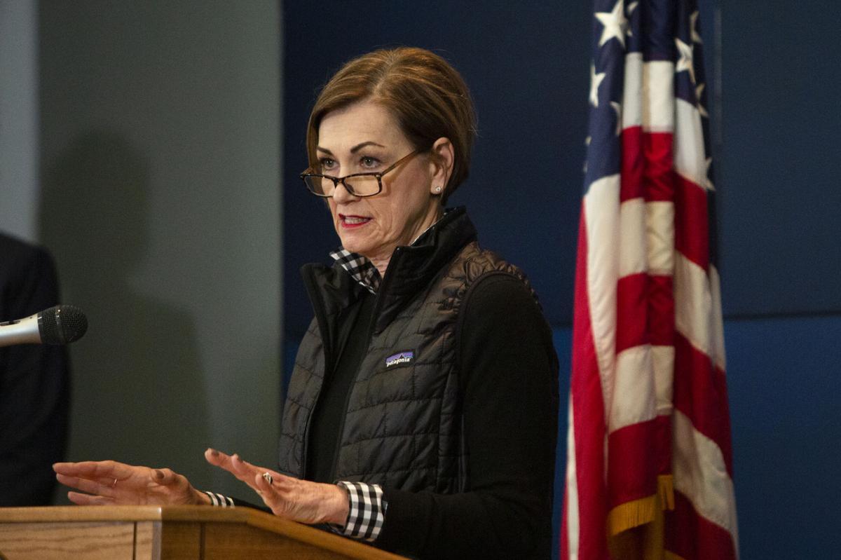 Kim Reynolds COVID Press Conference