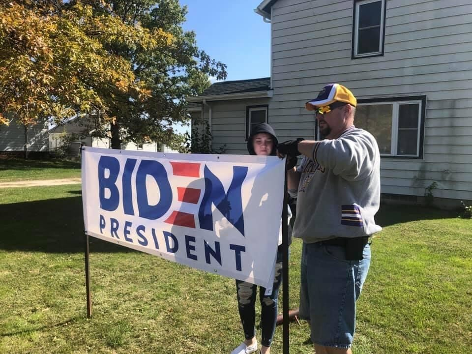 Political Sign Theft