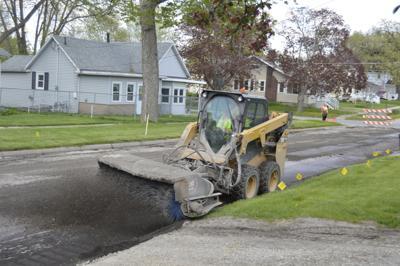 Iowa Falls Road Work