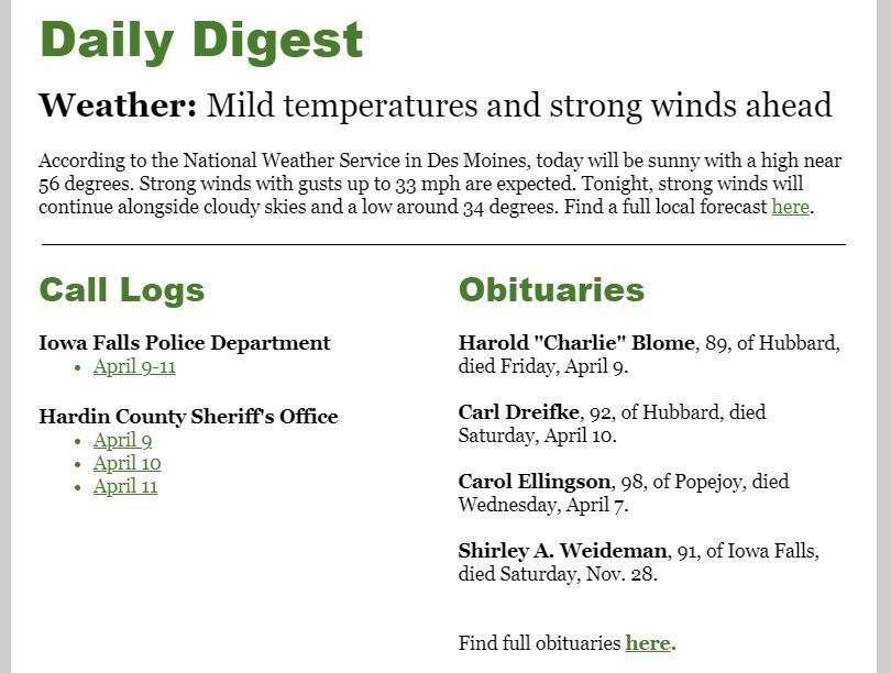 TC Daily Digest